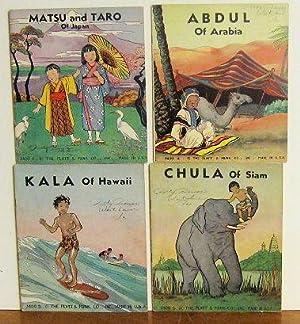 World Children-Four Titles- Matsu and Taro of Japan, Chula of Siam, Abdul of Arabia, and Kala of ...