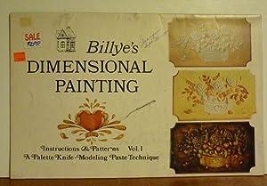 Billye's Dimensional Painting Volumes 1 & 2: Herb & Billye Johnson
