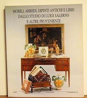 Mobili, Arredi, Dipinti Antichi E Libri Dallo: Finare Casa D-Aste