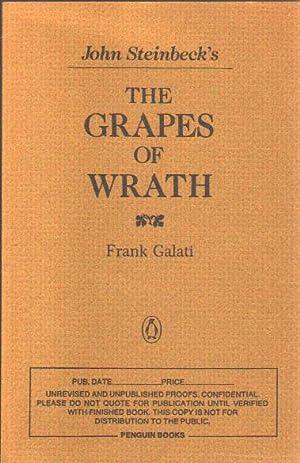 John Steinbeck's The Grapes of Wrath.: Galati, Frank.