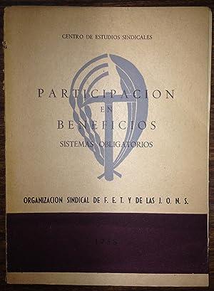 PARTICIPACION EN BENEFICIOS. Sistemas Obligatorios: CENTRO DE ESTUDIOS