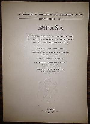 MODALIDADES EN LA CONSTITUCION DE LOS REGIMENES: CAMARA ALVAREZ, Manuel