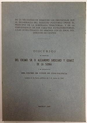 DE LA NECESIDAD DE REMOVER LOS OBSTACULOS: GROIZARD Y GOMEZ