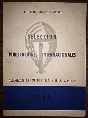 SELECCION DE PUBLICACIONES INTERNACIONALES. III. (Libros y: CENTRO DE ESTUDIOS