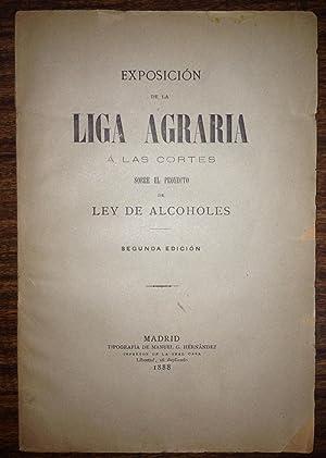 EXPOSICION DE LA LIGA AGRARIA A LAS