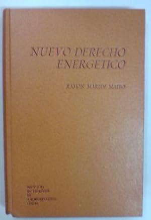 NUEVO DERECHO ENERGETICO: MARTIN MATEO, Ramón