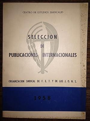 SELECCION DE PUBLICACIONES INTERNACIONALES. II (Libros y: CENTRO DE ESTUDIOS