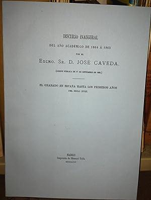EL GRABADO EN ESPAÑA HASTA LOS PRIMEROS: CAVEDA, José