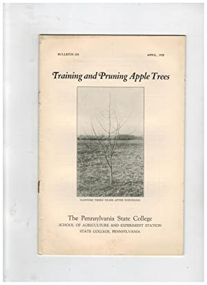 TRAINING AND PRUNING APPLE TREES: Fagan, F.N. &