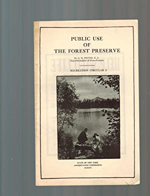 PUBLIC USE OF THE FOREST PRESERVE