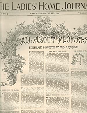 ALL ABOUT FLOWERS: SUPPLEMENT TO THE LADIES'