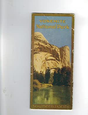 YOSEMITE NATIONAL PARK (Railroad Promotional Brochure)