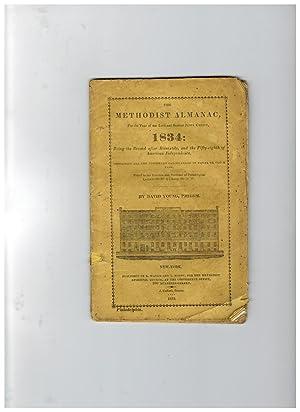 THE METHODIST ALMANAC FOR 1834