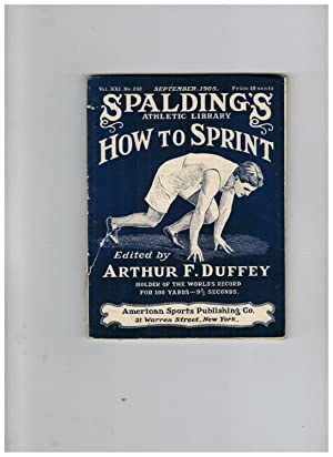 HOW TO SPRINT (Spalding's Athletic Library)