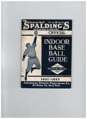 OFFICIAL INDOOR BASE BALL RULES AND CONSTITUTION AND BY-LAWS OF THE NATIONAL INDOOR BASE BALL ASS...