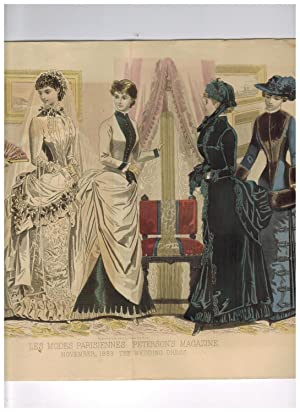 PETERSON'S LADIES NATIONAL MAGAZINE. November, 1883 (Hand-Colored
