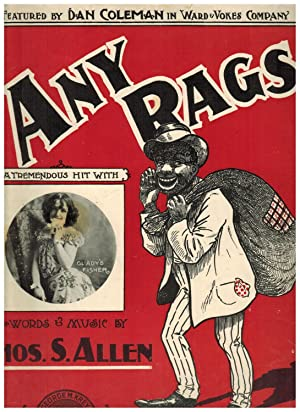 ANY RAGS? (Ragime Sheet Music)