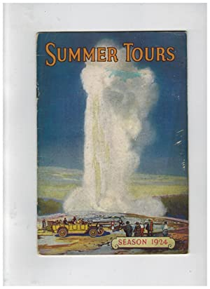 SUMMER TOURS SEASON 1924:
