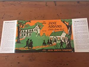 JANE ADDAMS LITTLE LAME GIRL (Dust Jacket: Wagoner, Jean Brown