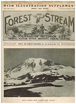 FOREST AND STREAM: A JOURNAL OF OUTDOOR LIFE, TRAVEL, NATURE STUDY, SHOOTING, FISHING, YACHTING. ...