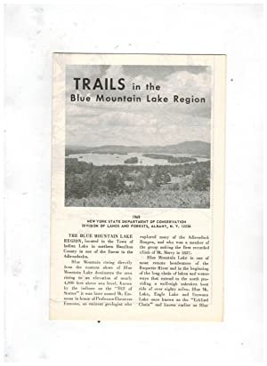TRAILS IN THE BLUE MOUNTAIN LAKE REGION