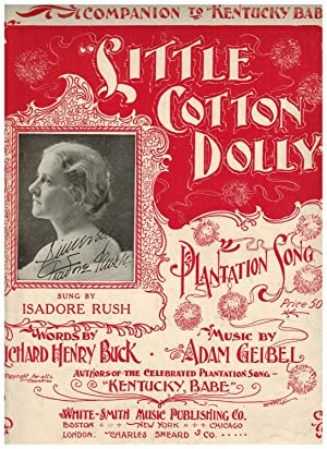 LITTLE COTTON DOLLY (PLANTATION LULLABY)