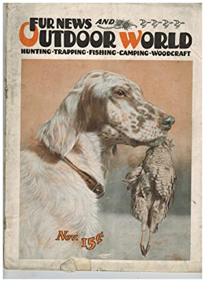 FUR NEWS AND OUTDOOR WORLD. November, 1924