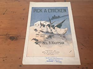PICK A CHICKEN (Mr. and Mrs. Vernon Castle Feature this Wonderful Dance Hit)