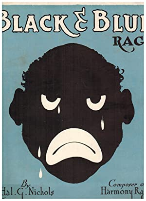 BLACK AND BLUE RAG