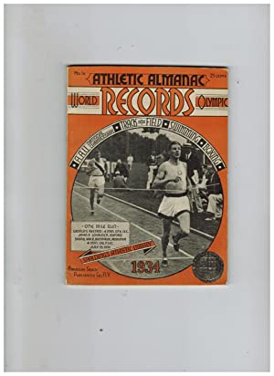 SPALDING'S OFFICIAL ATHLETIC ALMANAC 1934 (World and Olympic Records)