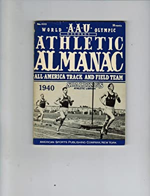 SPALDING'S OFFICIAL ATHLETIC ALMANAC 1940