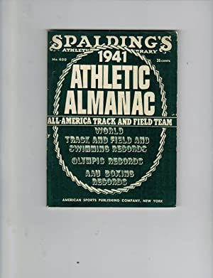 SPALDING'S OFFICIAL ATHLETIC ALMANAC 1941