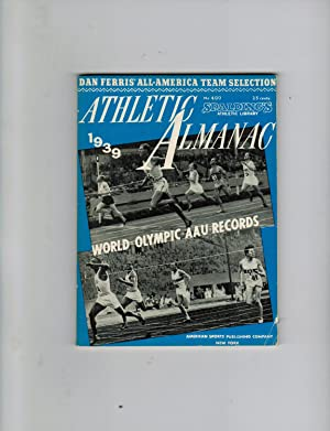 SPALDING'S OFFICIAL ATHLETIC ALMANAC 1939