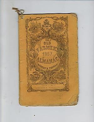 THE OLD FARMER'S 1867 ALMANAC: Thomas, Robert B.