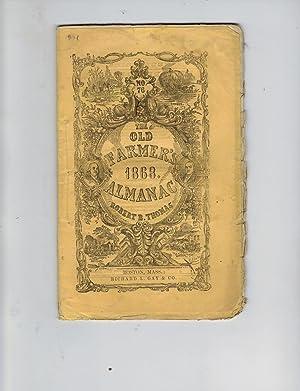THE OLD FARMER'S 1868 ALMANAC: Thomas, Robert B.
