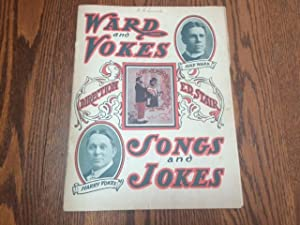WARD AND VOKES SONGS AND JOKES (Program from