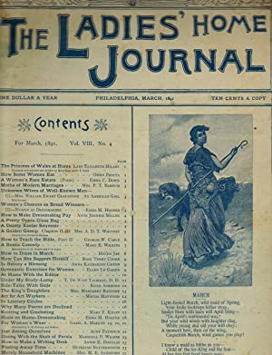 THE LADIES' HOME JOURNAL. Issue of March