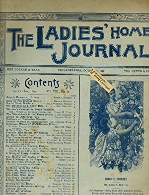 THE LADIES' HOME JOURNAL. Issue of October