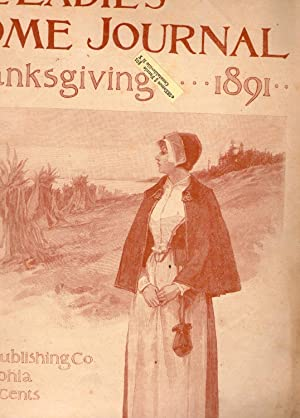 THE LADIES' HOME JOURNAL. THANKSGIVING 1891