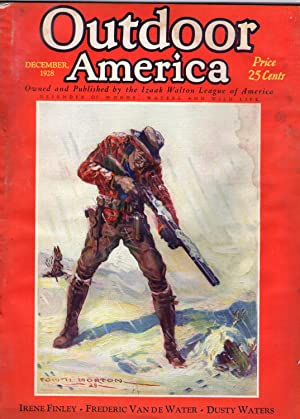 OUTDOOR AMERICA (Magazine). Issue of December 1928