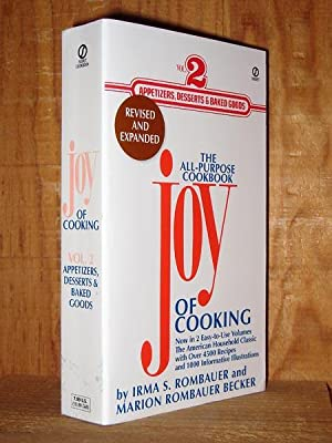 The Joy of Cooking: Volume 2: Appetizers,: Rombauer, Irma S.;