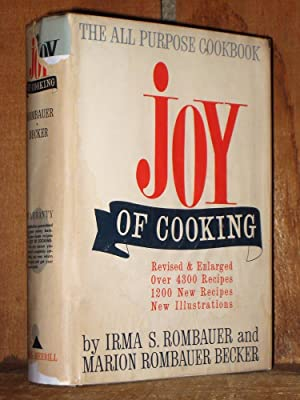 joy of cooking: Rombauer, Irma S.;