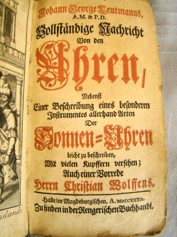 viaLibri ~ Rare Books from 1722 - Page 1