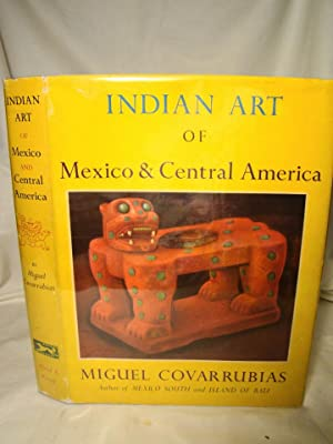 Indian Art of Mexico & Central America. Color Plates & Line Drawings by the Author.