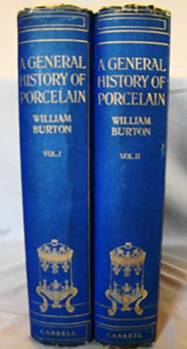 A General History of Porcelain. First edition in 2 volumes.