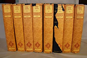 A History of the Inquisition. Fine set of eight volumes, 1922, in dust jackets.