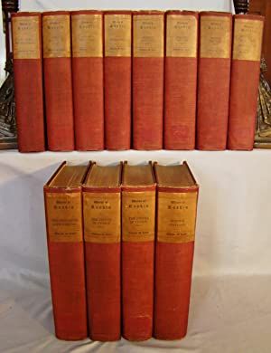 WORKS OF JOHN RUSKIN. 12 volumes, limited to1000 sets.