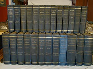 Dictionary of National Biography From Earliest Times to 1930. 25 volumes