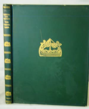 The Viking Ships Their Ancestry and Evolution. Original publisher?s gilt decorated green leather ...