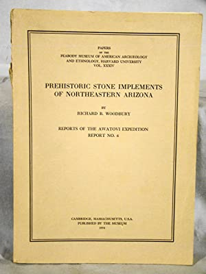 Prehistoric Stone Implements of Northeastern Arizona. Reports of the Awatovi Expedition. Reoprt N...